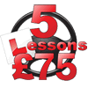 First 5 lessons for £75 Image